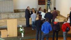 Taufe von Egita und Sophie